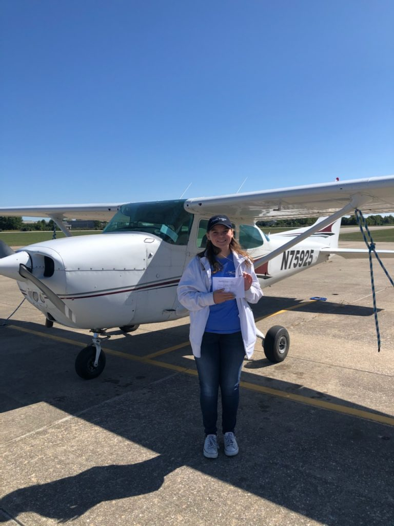 EAA 729's First Ray Scholar Succeeds!